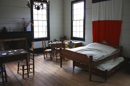 General Marquis de Lafayette's room at the Lucas Tavern Montgomery, Alabama