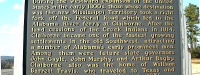 Descriptions of some future Alabama towns in a letter written in 1817