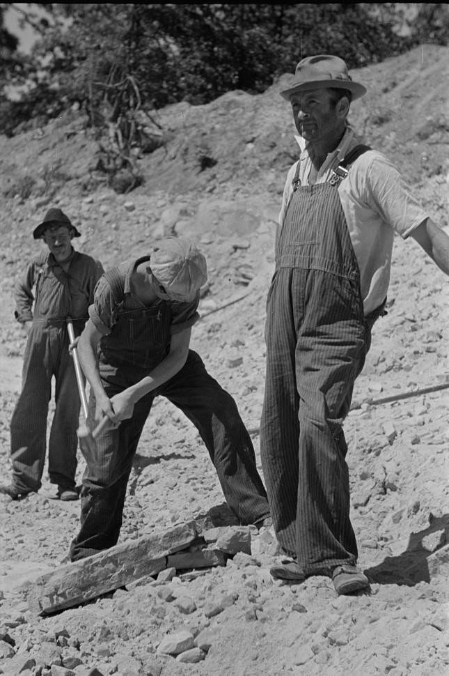 Skyline Farms - sandpit2 1935