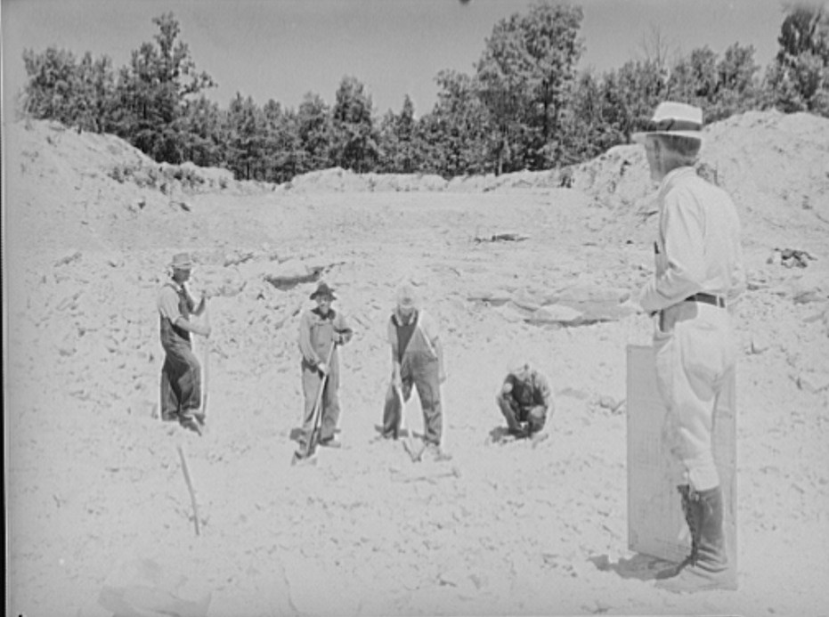 Skyline Farms - sandstone quarry 1935