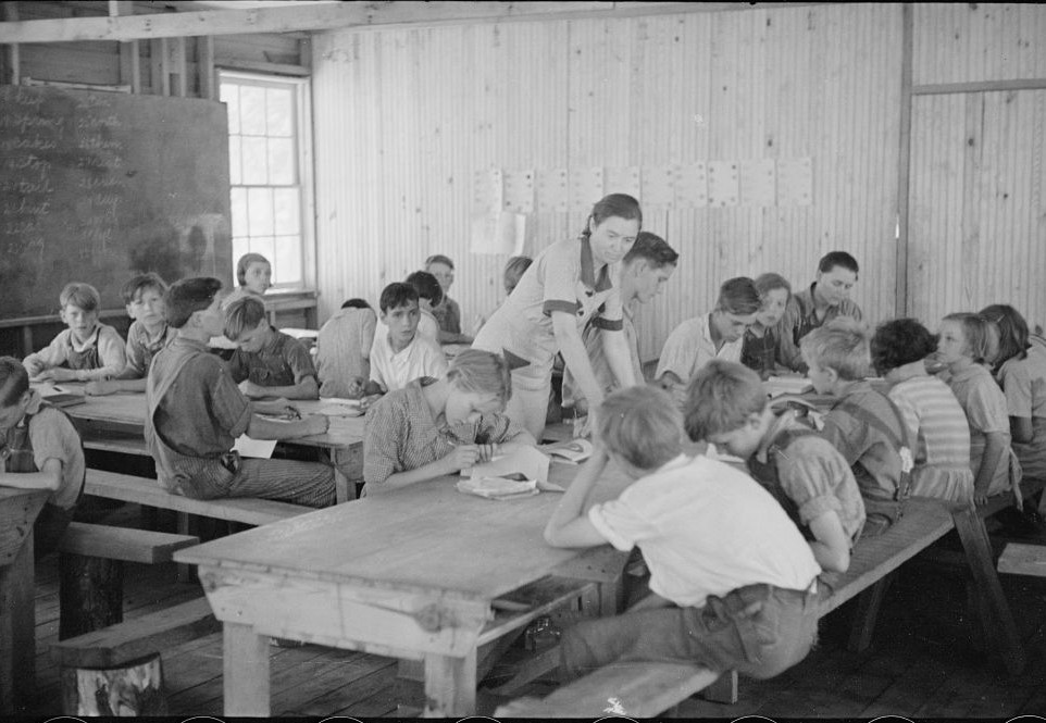 Skyline farms - school scene1