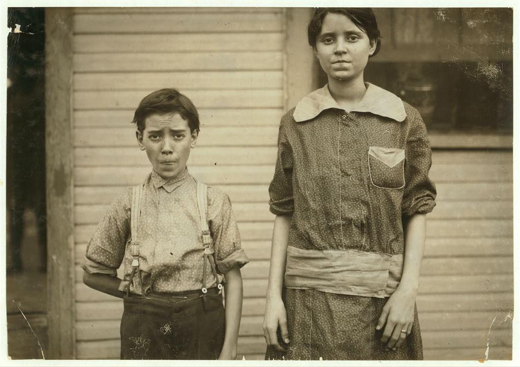 Two Workers of Merrimack Nov. 1913