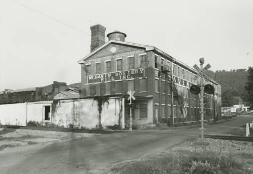 . B. Davis Hosiery Mill, Inc., in Fort Payne, Alabama.