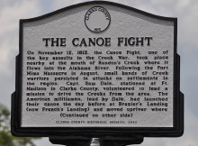 Down the Alabama River – Day Eight on August 18, 1814