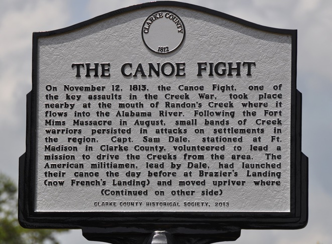 canoe fight marker
