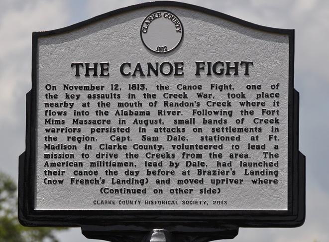 canoe fight marker