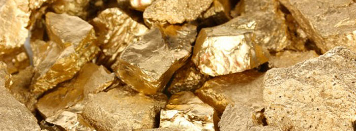There is gold in the hills of Alabama, at least there was once