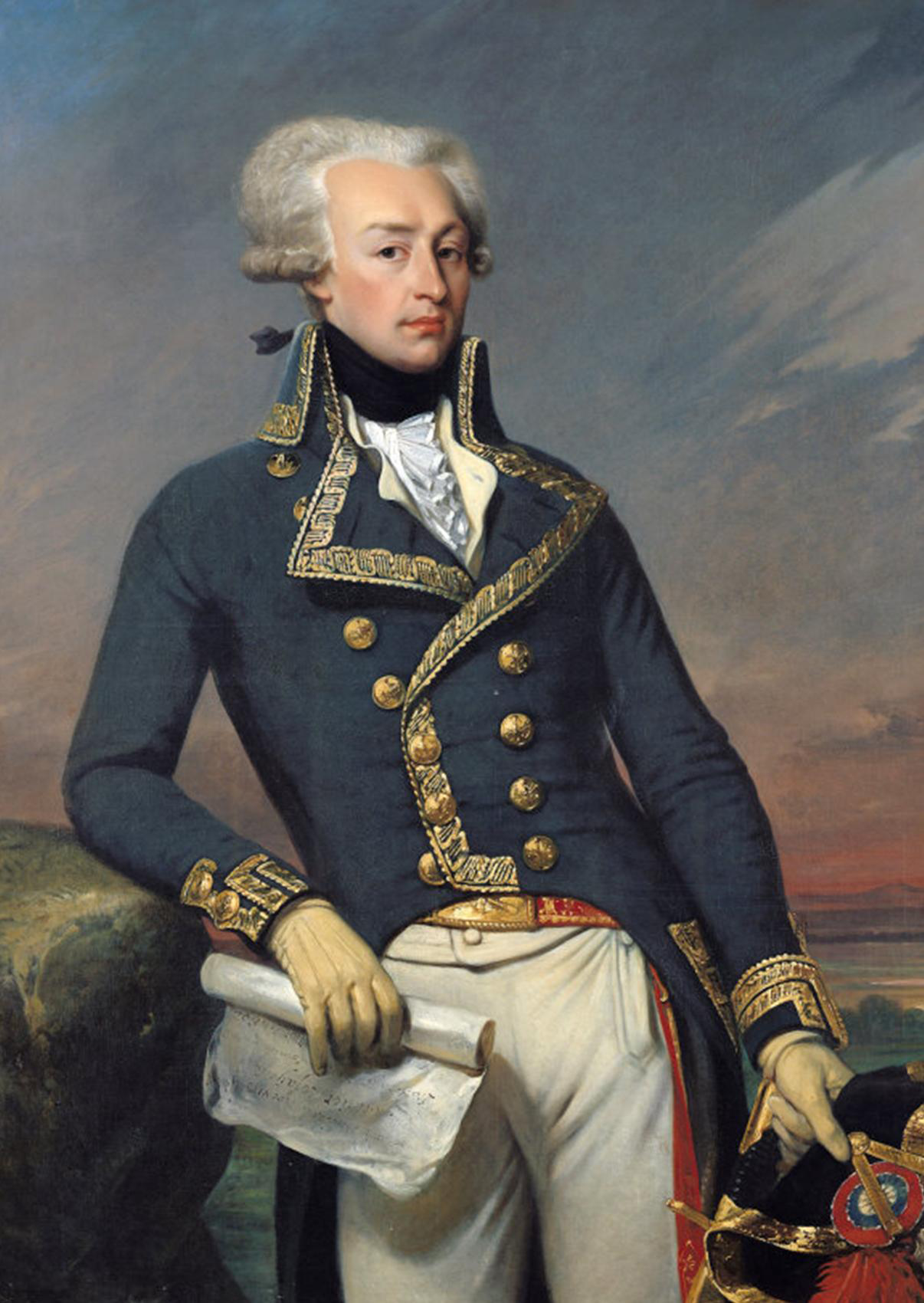 PATRON + Gen. LaFayette letters - LaFayette arrives in Alabama - John Banks reports progress