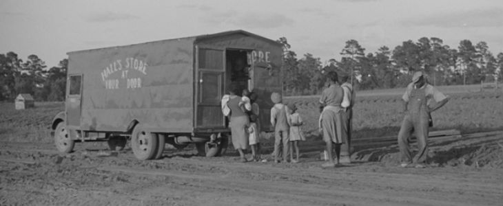 MONDAY MUSINGS: Rolling Stores, not the Rolling Stones – Could they return? [old photographs]