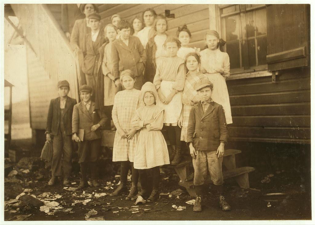 school 2- huntsville, ala dec. 1913 - hine