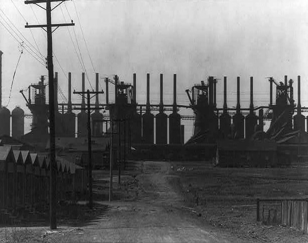 Steel Mill and Workers Houses
