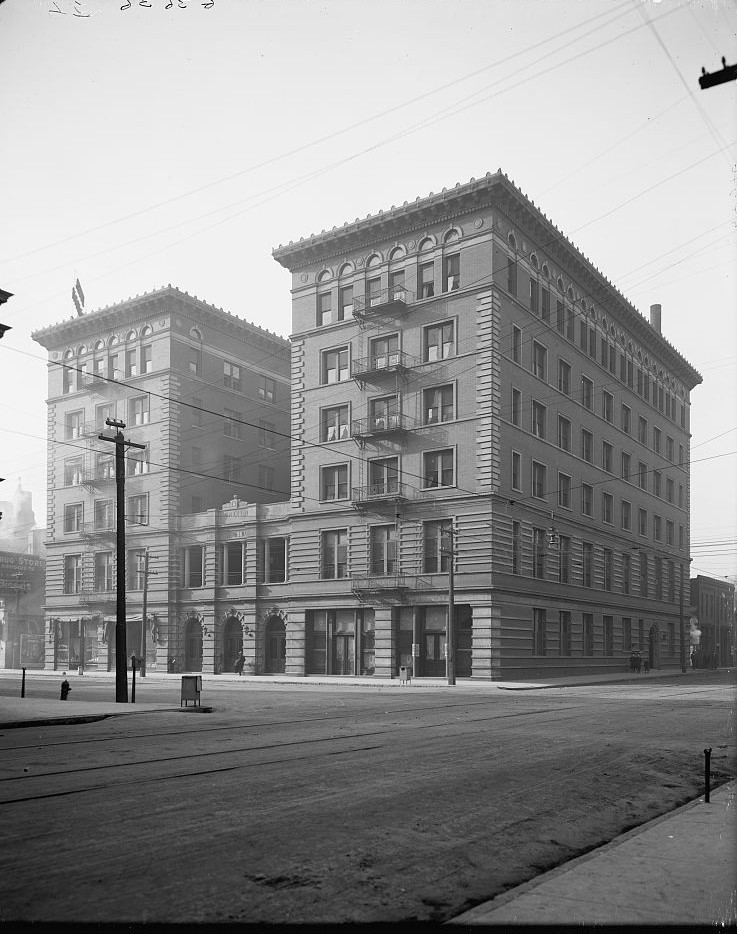 Hotel Hillman 1890, Photo taken by Detroit Publishing Company