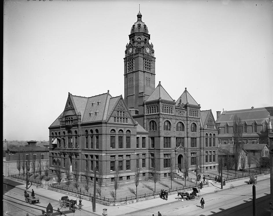 Jefferson County Court House, Birmingham - Photo taken 1906 by Detroit Publishing Company