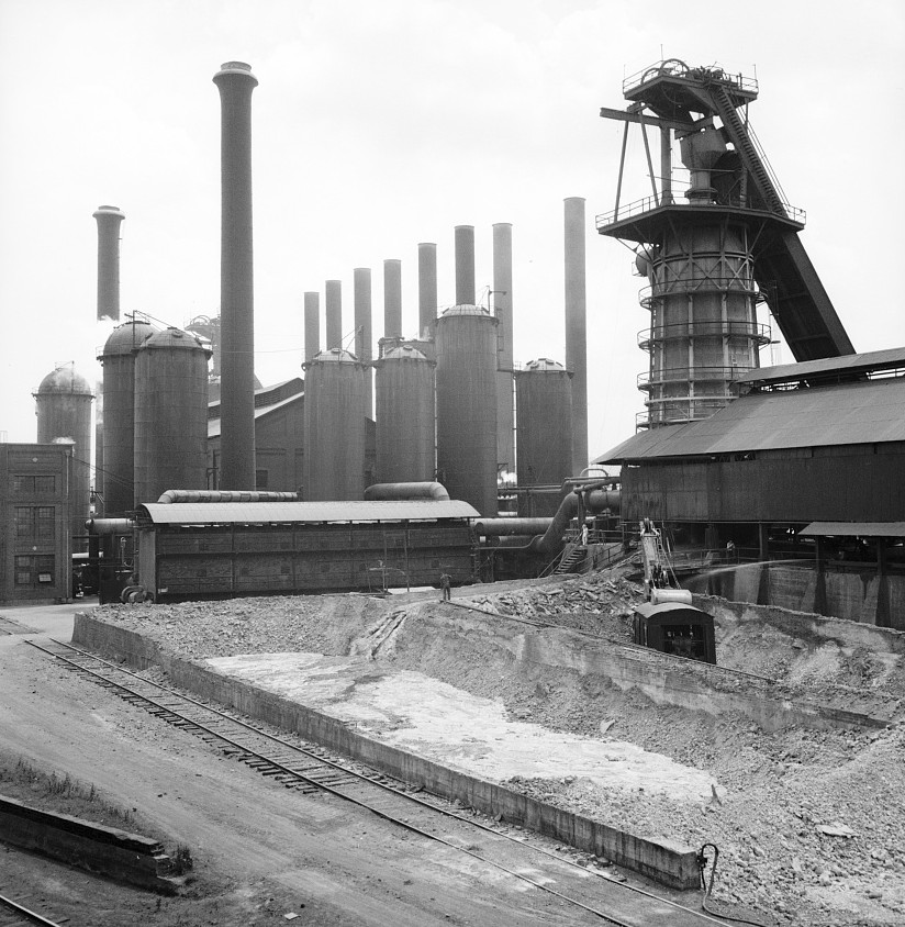 Sloss-Sheffield Steel and Iron Company, photo taken 1936 by Dorothea Lange