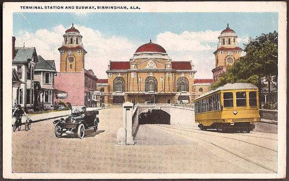 Birmingham terminal station