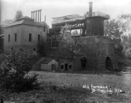 Brierfield, old furnace, photo at State of Alabama Archives
