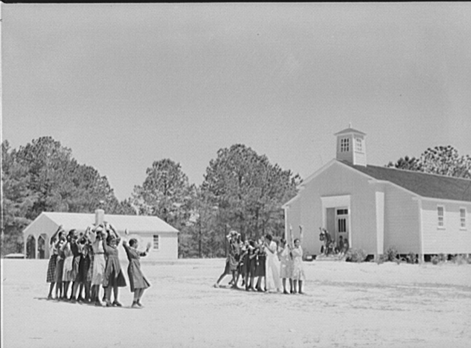 Gee's Bend School photo taken by M. P. Walcott 1939