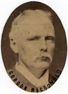 Biography: Gordon Rowaleyn Cumming MacDonald born February 1848 – photograph