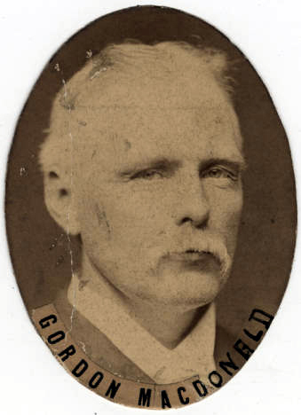 Biography: Gordon Rowaleyn Cumming MacDonald born February 1848 – photograph