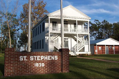 St. Stephens – First And Only Capital Of The Alabama Territory
