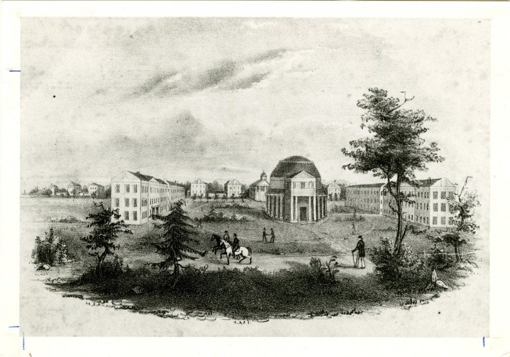 University of Alabama before it burned (apps.lib.ua.edu.)