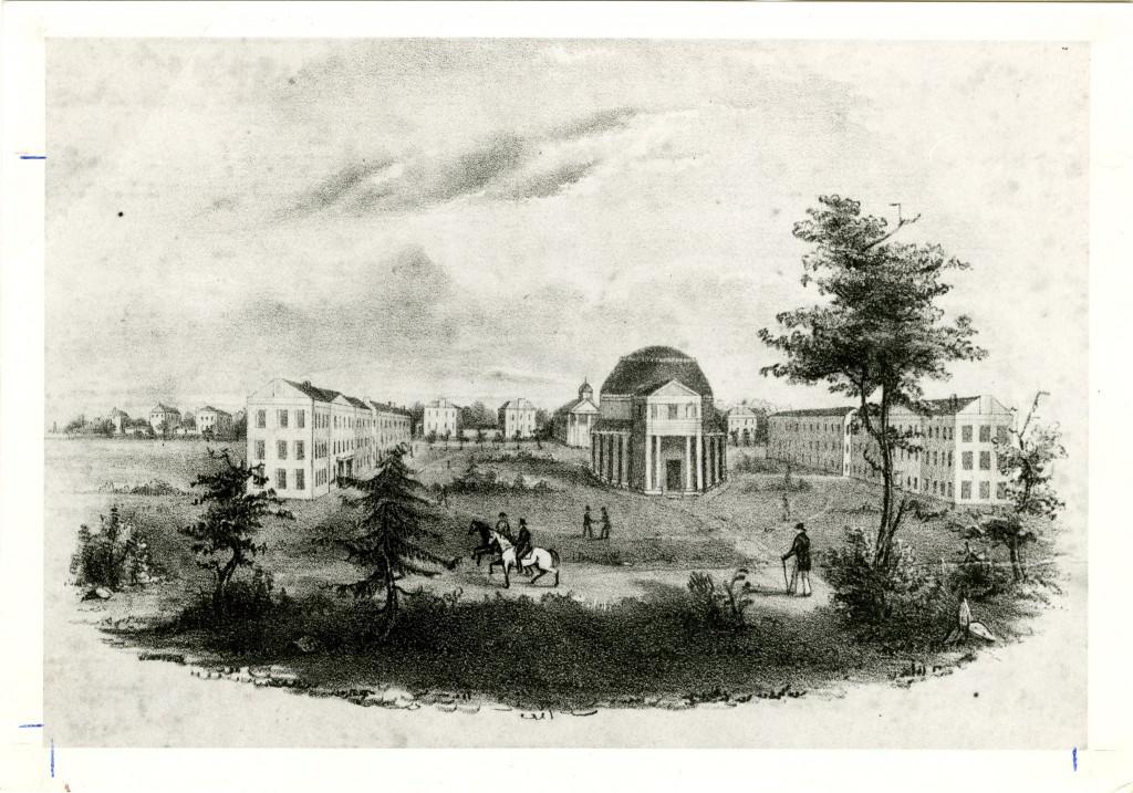 University of Alabama before it burned (apps.lib.ua.edu.)