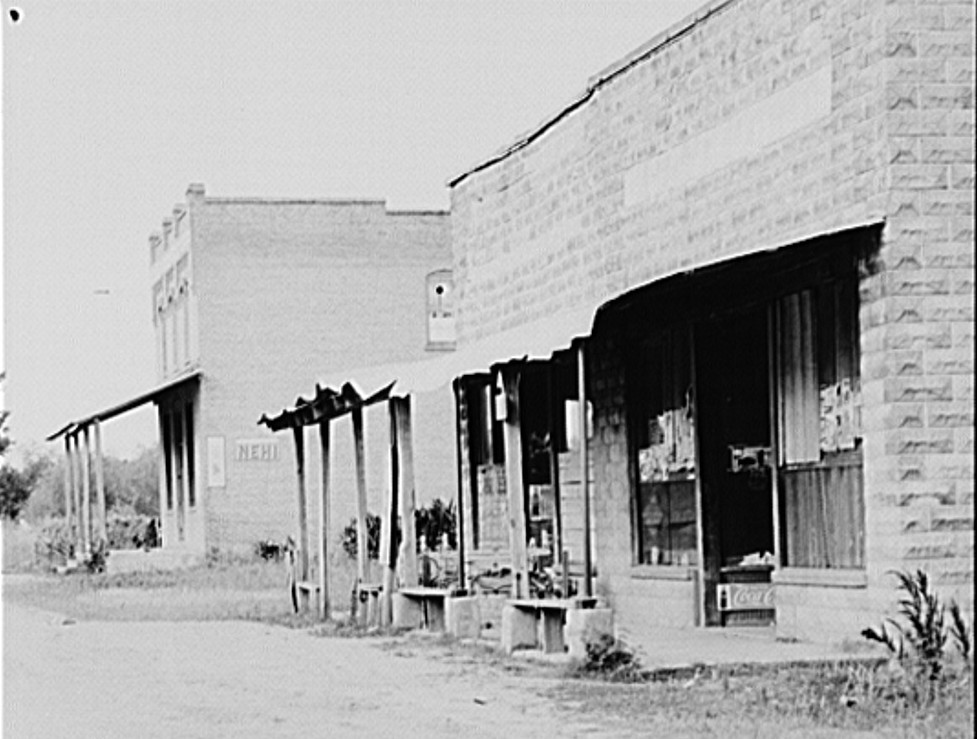 Abandoned stores in Advance, Alabama