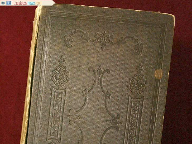 This copy of the Quran was saved from the 1853 burning of the UA campus. The book is housed in the William S. Hoole Special Collections Library. - Tuscaloosa News