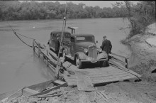Gee's Bend in Wilcox County, Alabama at the start of the Federal Government Resettlement Program in 1939