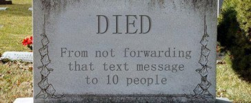 Sad epitaphs