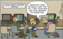 PATRON + FUNNY FRIDAY: A GENEALOGY NIGHTMARE