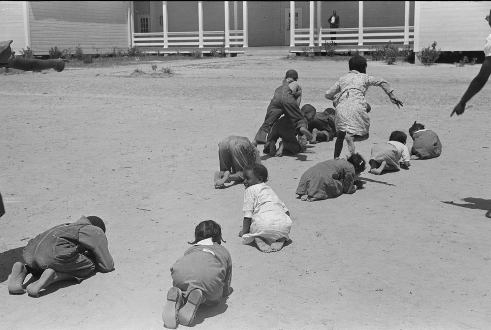 school - children supervised games