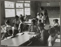 Vintage 1939 photographs of the progress in education and schools at Gee's Bend, Wilcox County, Alabama