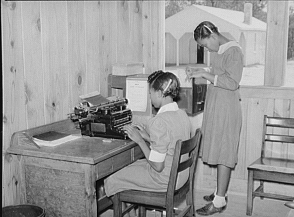 school - learning office skills