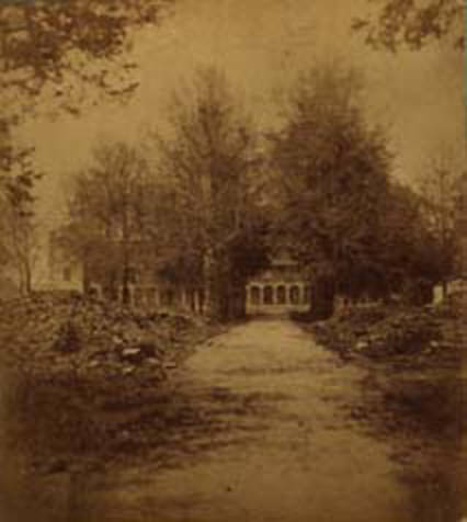 University of Alabama ruins ca. 1874