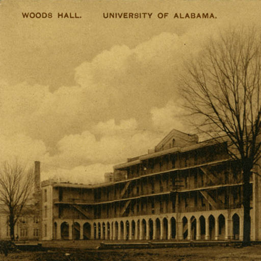 Woods Hall at the University of Alabama is still standing because of an alert student on October 6, 1931 which could have ended in tragedy