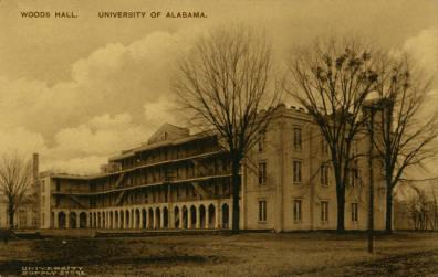 Alabama universtiy  woods hall3