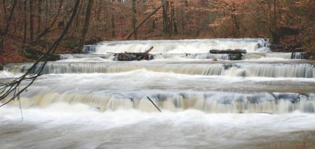 Blount springs cinderella falls