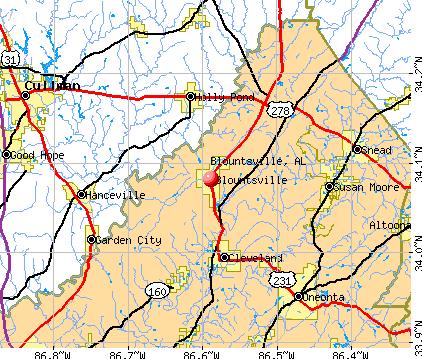 Blountsville valley