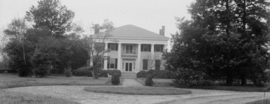 Glennville Plantation, Russell County, Alabama was truly a majestic mansion [see film]