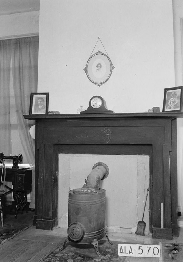 Glennville plantation12 MANTEL IN N,E. FRONT ROOM, RECEPTION ROOM