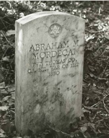 Abraham Mordecai lost his ear and almost his life in early Montgomery County, Alabama