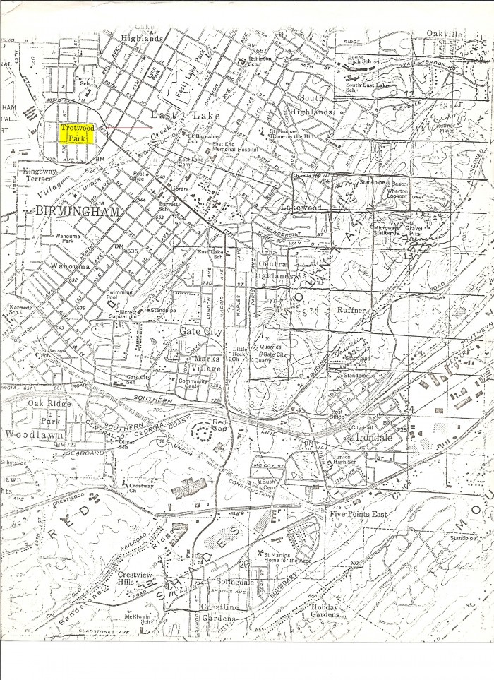 Trotwood Park MAP