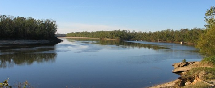 Down the Alabama River in 1814 - Day five - August 15, 1814