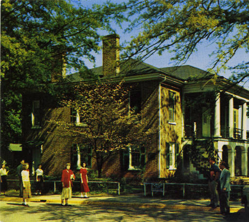 alabama university gorgas home 1950