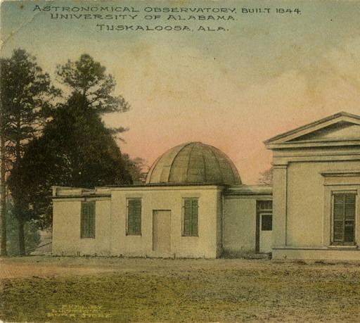 alabama univl observatory postcard