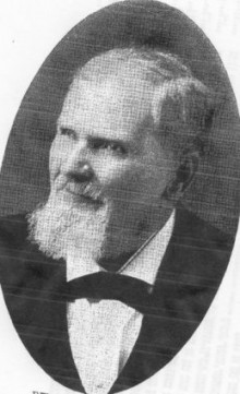Biography: Rev. J. D. Anthony born October 12, 1825 – photograph