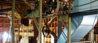 First cotton gin established before Alabama became a state