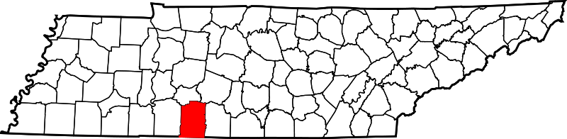 lawrence county, tenn map
