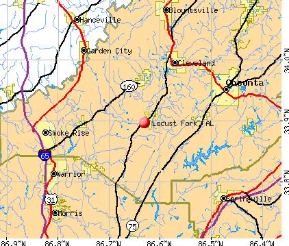 locust fork map
